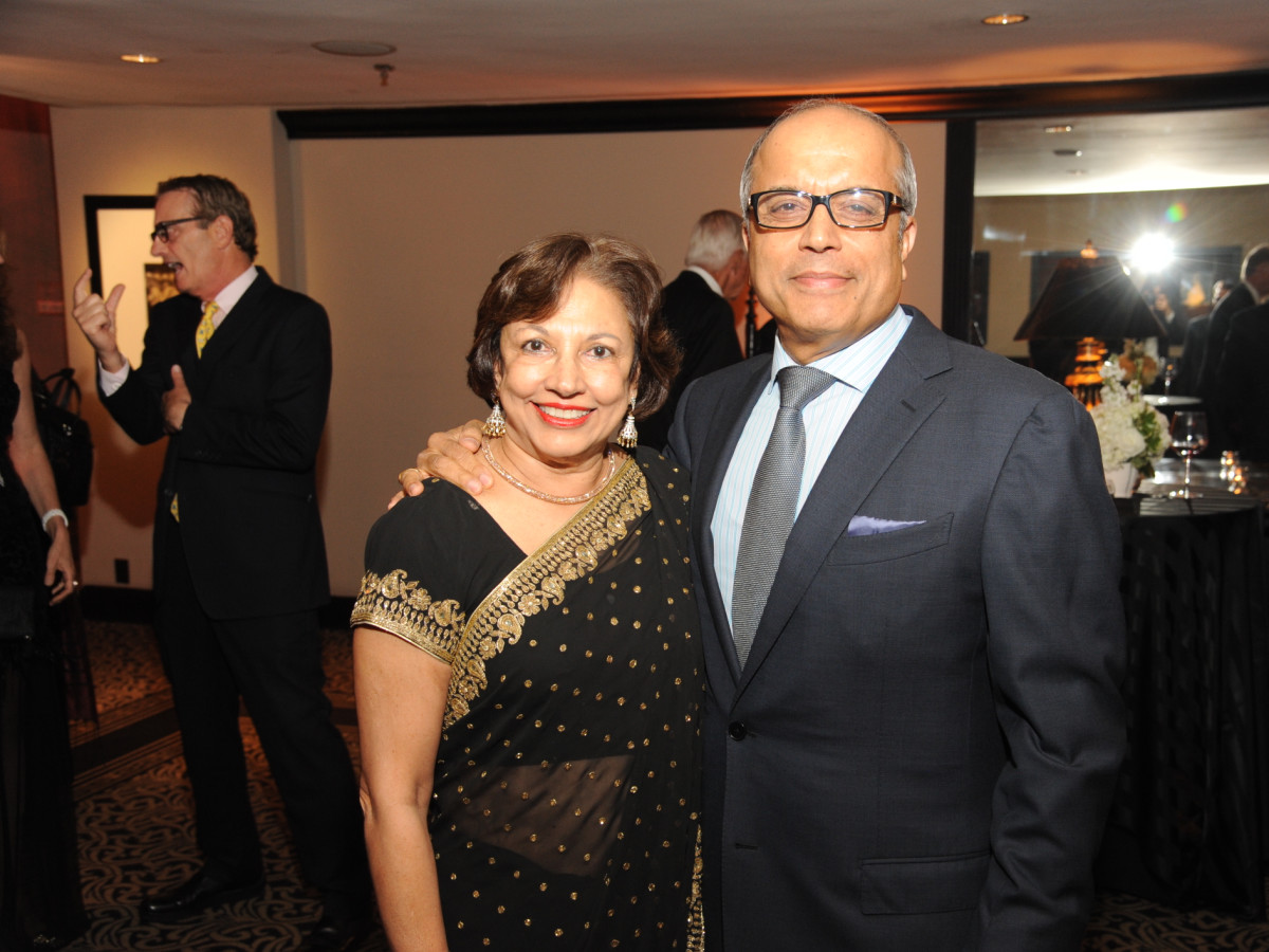Houston Arts Alliance dinner 5/16, Dr. Fatima Jawjim Amin Mawji