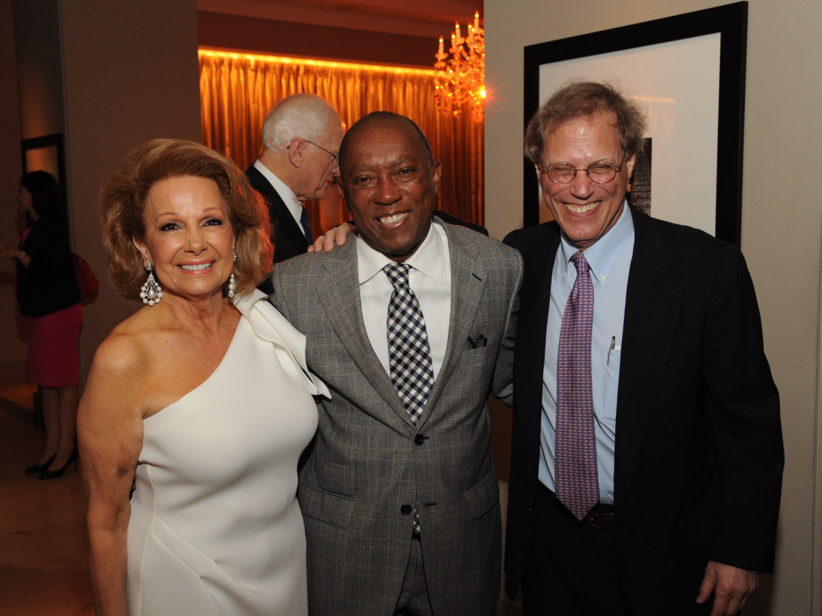 Houston Arts Alliance dinner 5/16, Philamena Baird, Mayor Sylvester Turner, Stephen Klineberg