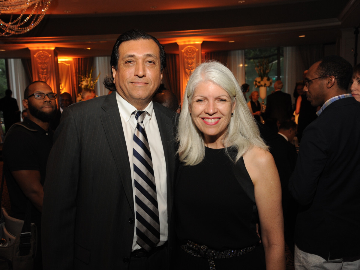 Houston Arts Alliance dinner 5/16, Tim Cisneros, Carla Cisneros