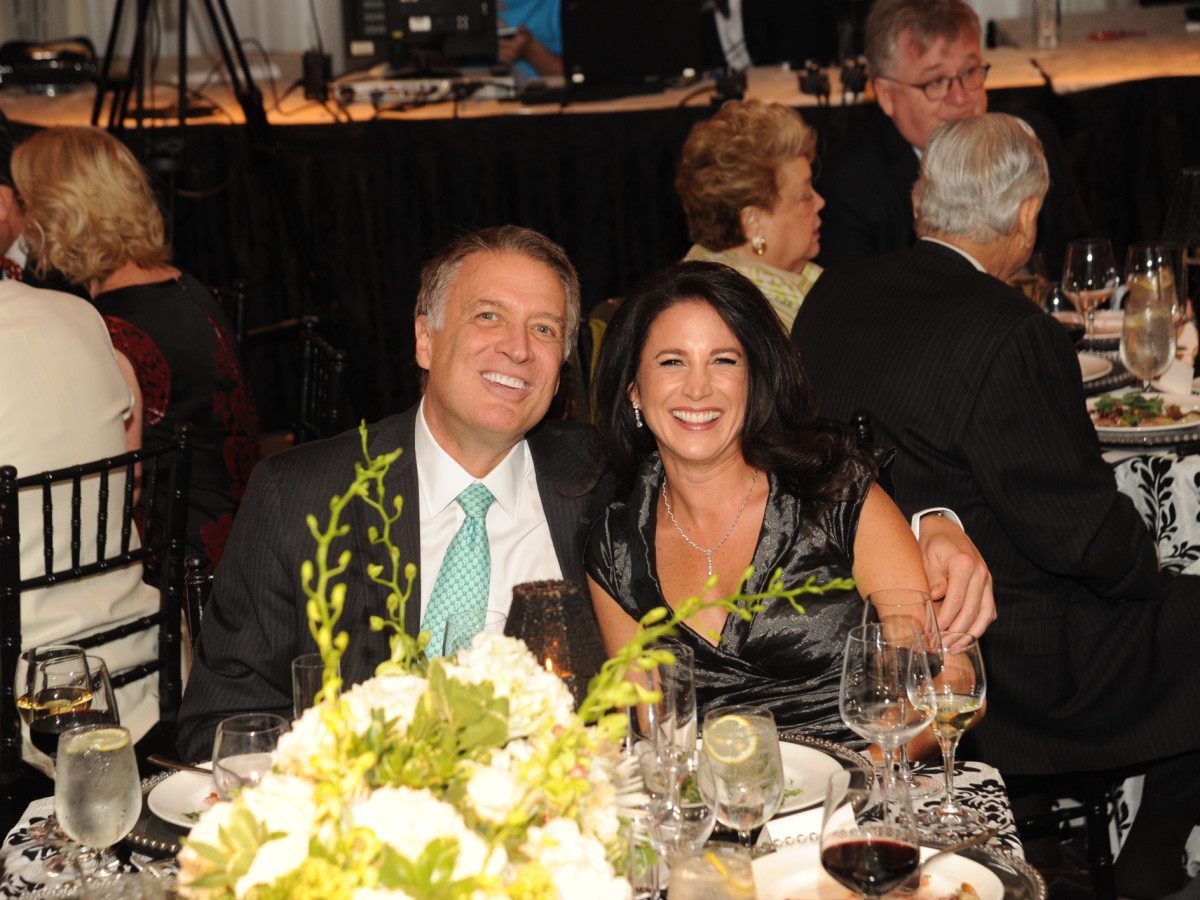 Houston Arts Alliance dinner 5/16, Marc Melcher, Carin Brody Davidson