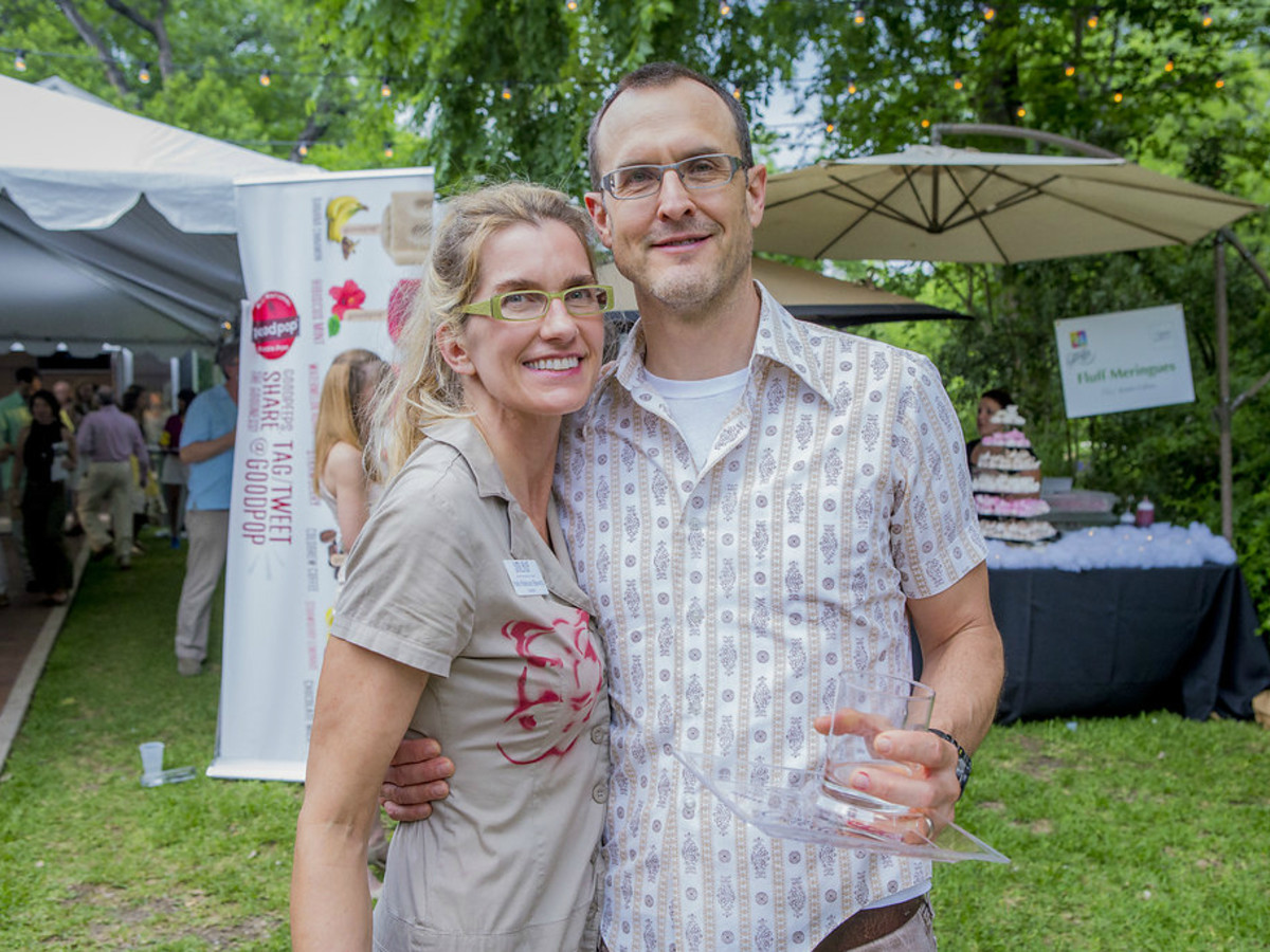 Umlauf Sculpture Garden and Museum Garden Party 2016 Katie Robinson Edwards Lee Edwards