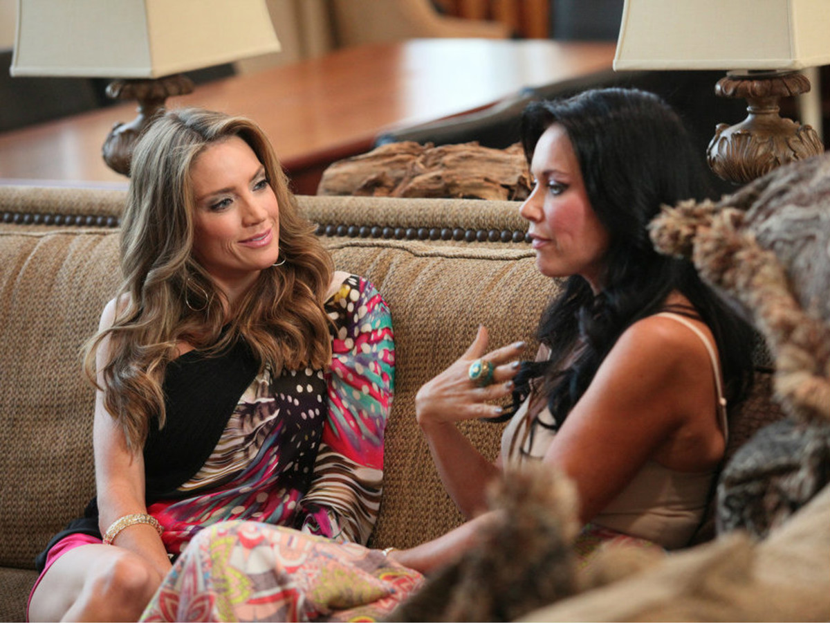 Cary Deuber and LeeAnne Locken of Real Housewives of Dallas