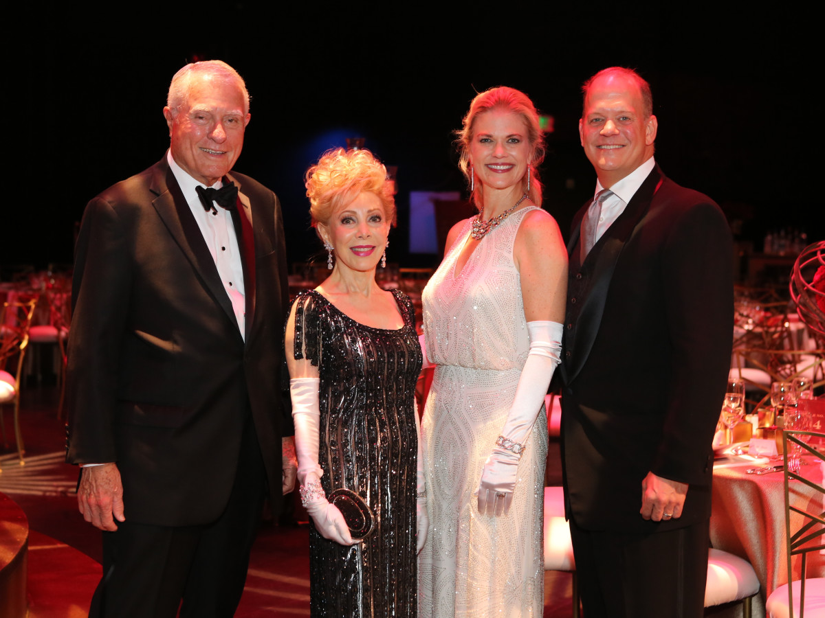 TUTS Gala 4/2016, Jim Daniel, Margaret Alkek Williams, Amy Pierce, Rob Pierce