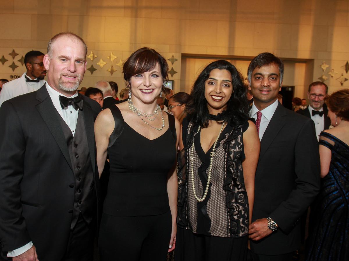 TUTS Gala 4/2016,Pete O'Brien, Dana O'rBrien, Monica Karuturi, Kumaran Sathyamoorthy