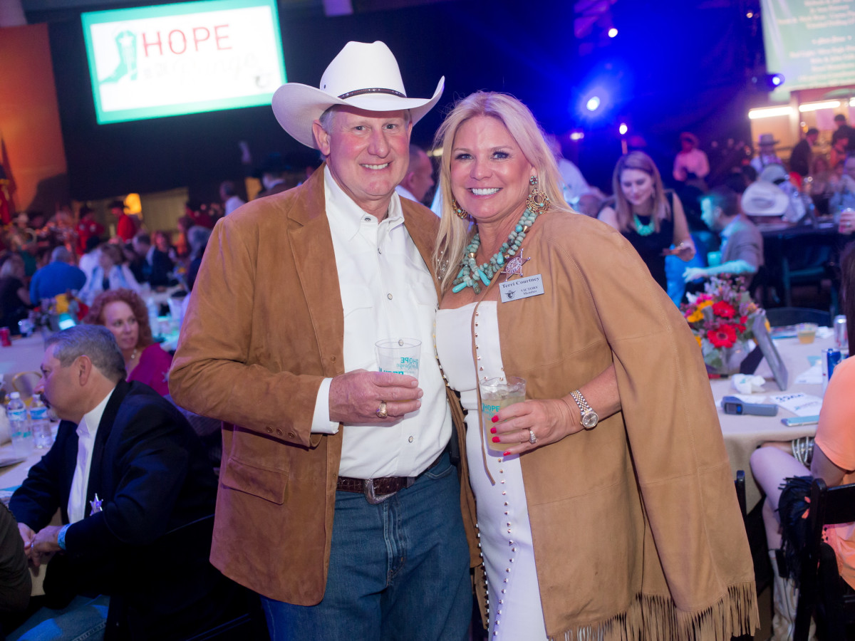Cattle Baron's Ball, 4/2016 Greg Courtney, Terri Courtney