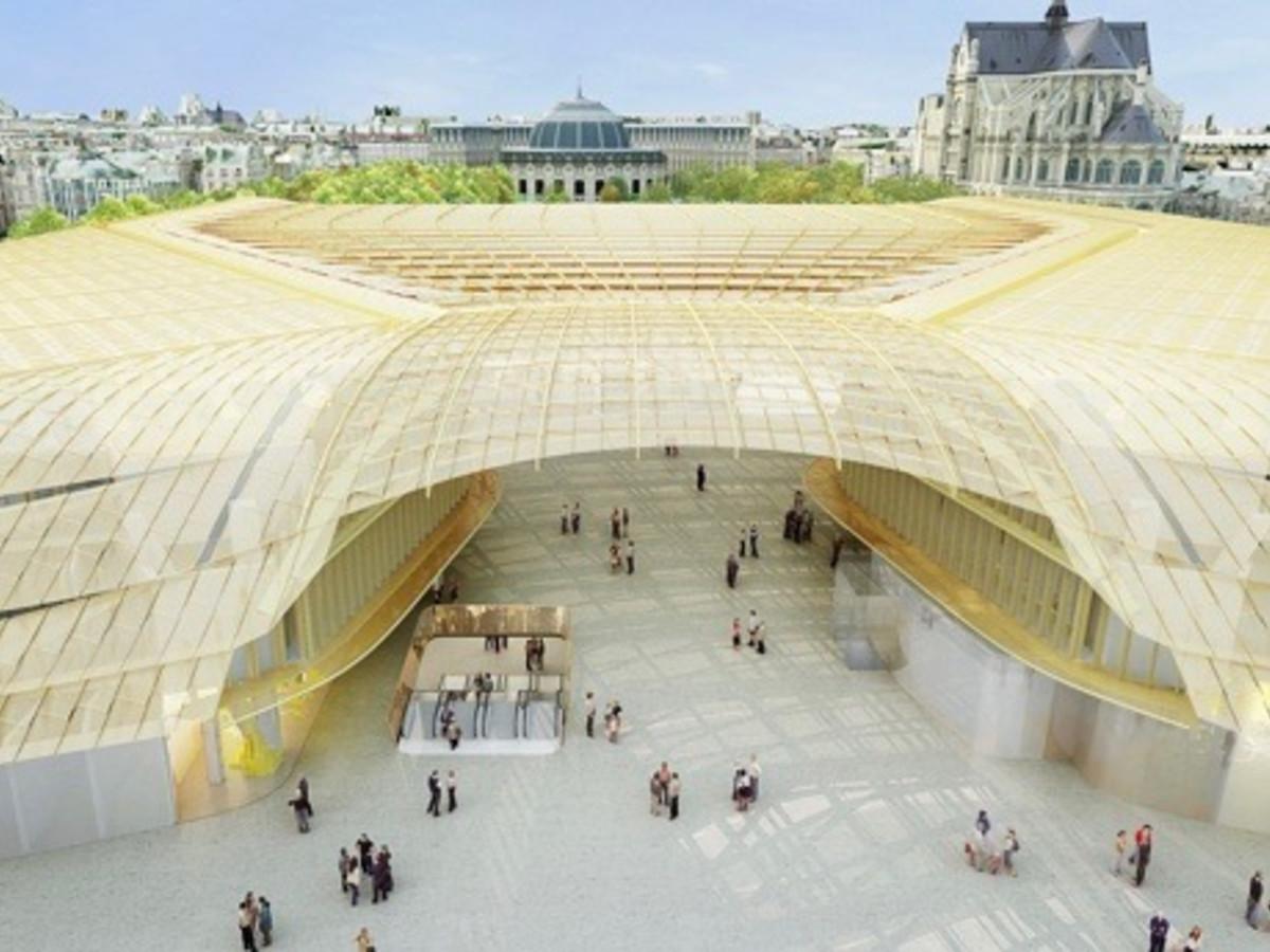 Les Halles canopy