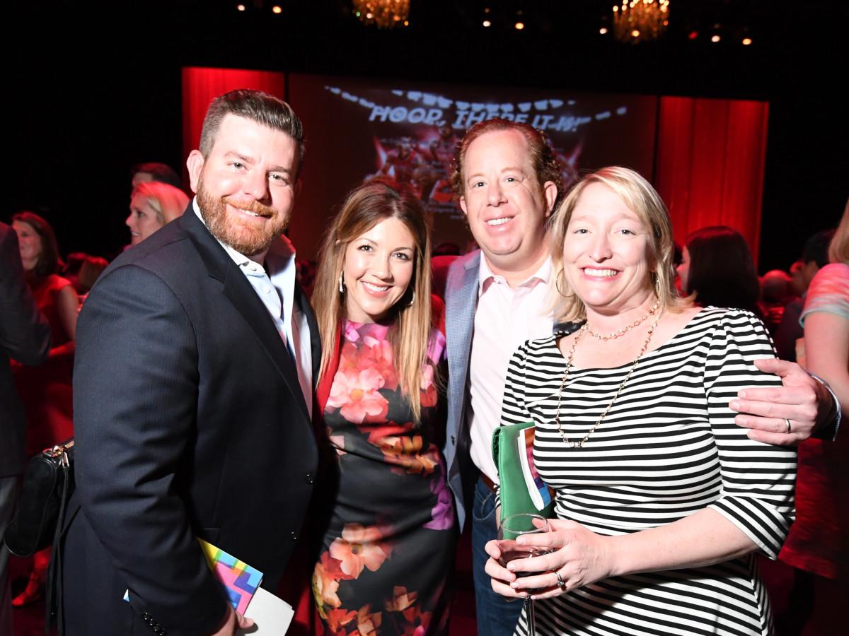 Casa de Esperanza dinner 4/16 Josh Bowlin, Paige Bowlin, Rob Anderson, Kristin Anderson