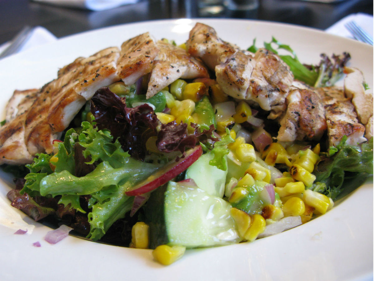 Ellen's Southern Kitchen chick salad