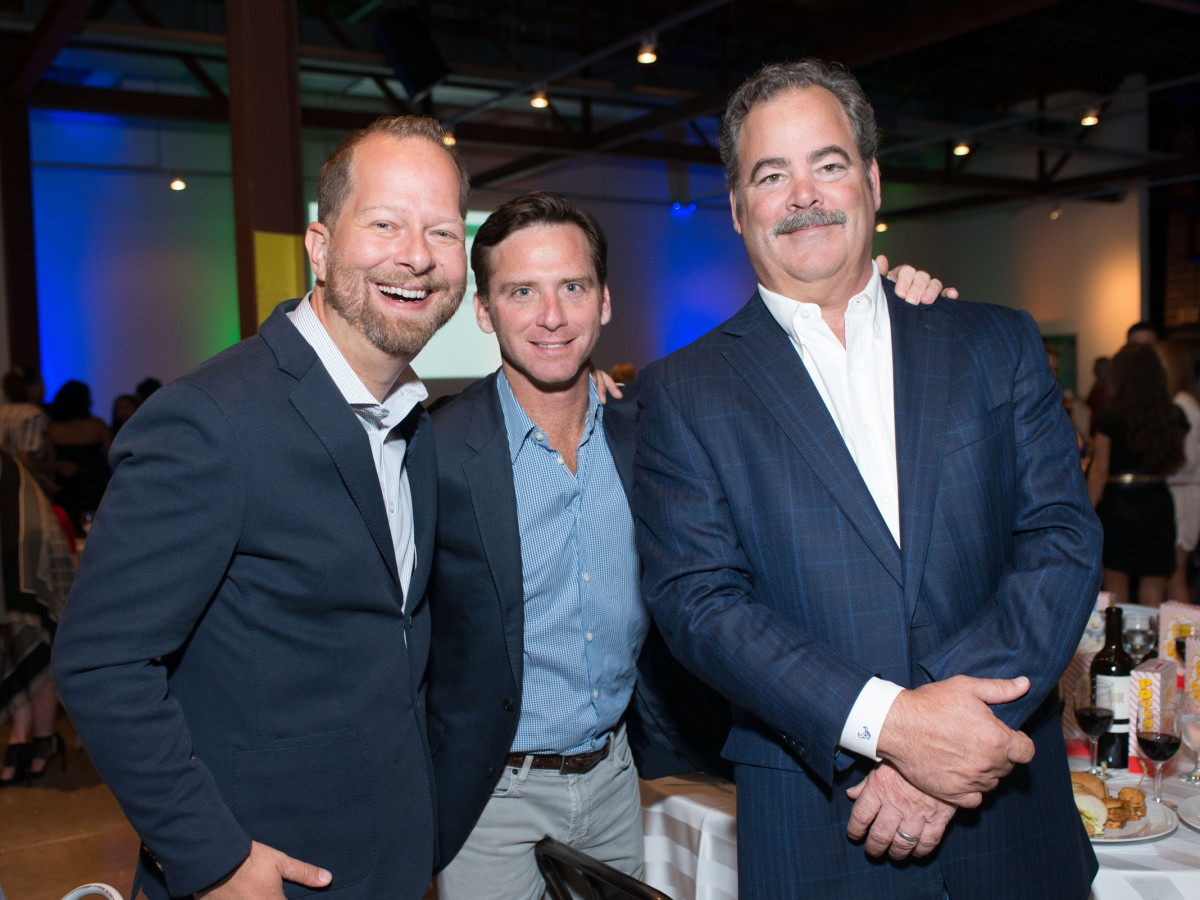 Project 88 gala, 4/16, Chris Seay, David Hartland, Cal McNair