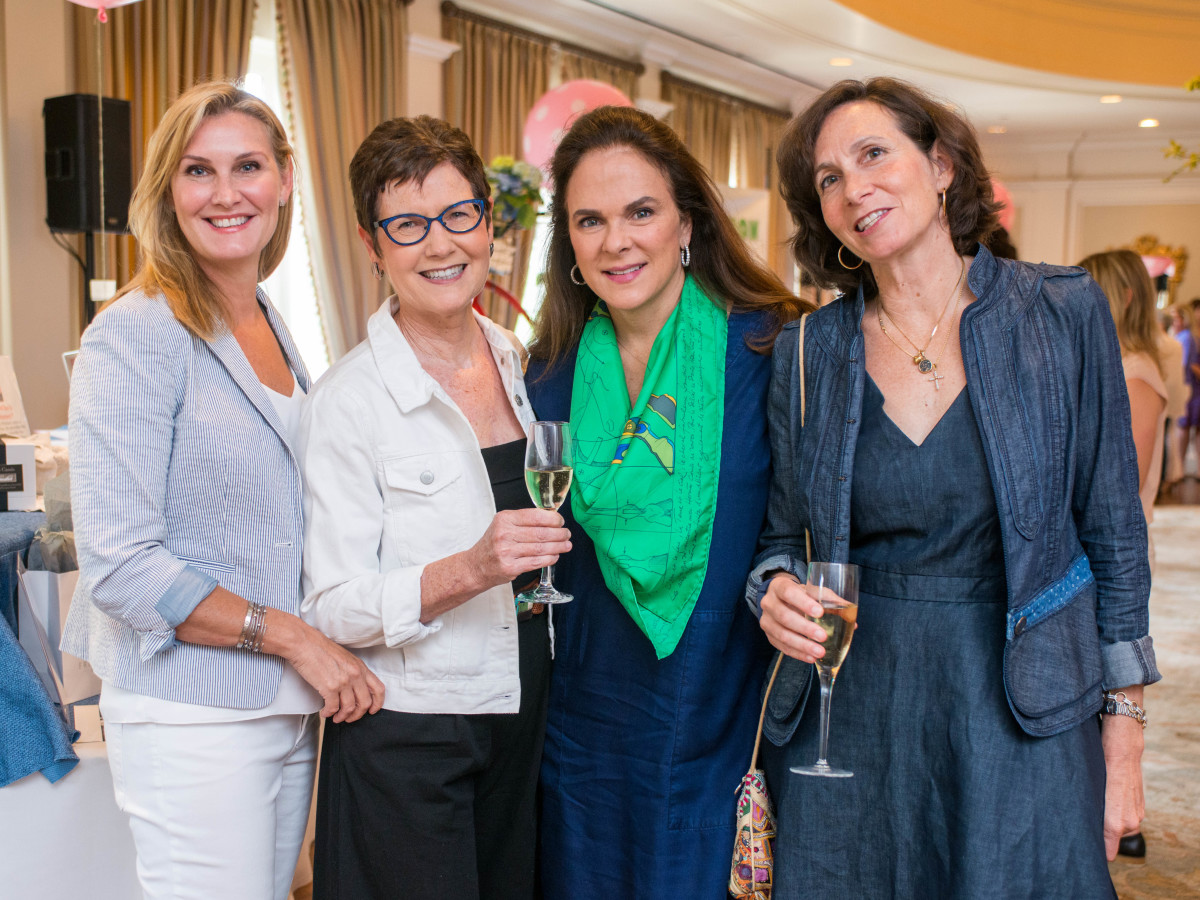 BEAR luncheon 4/16,  Laura Claiborn, Mary Ann Detmering, Nancy Brasher, Cathy Fuselier