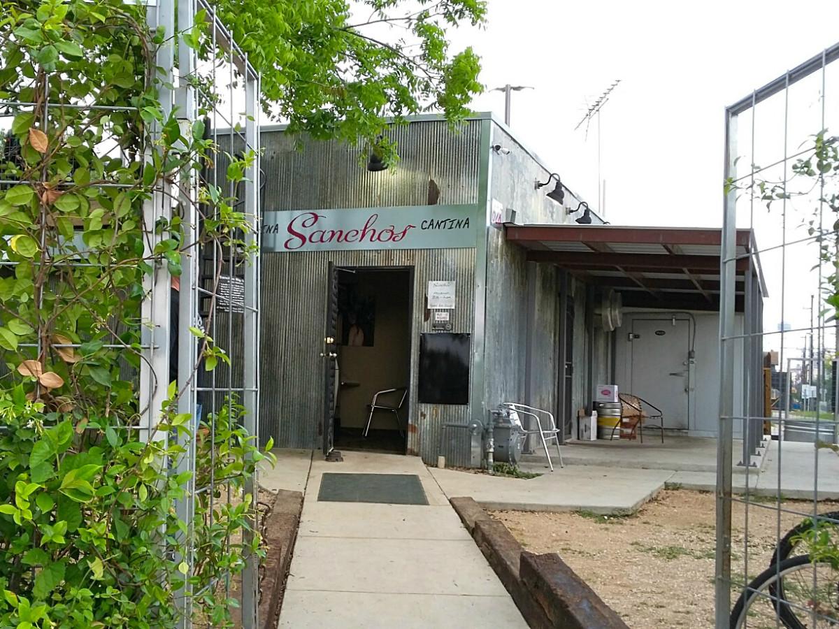 Sanchos Cantina y Cocina San Antonio restaurant bar front entrance