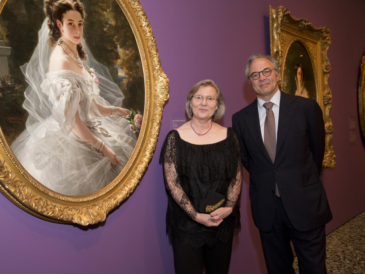 MFAH High Society, 4/16, Helga Aurisch, Prince Metternich
