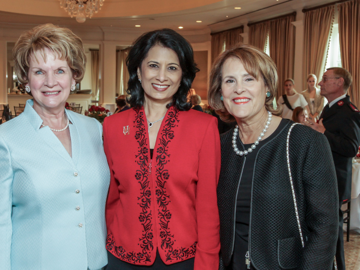 Salvation Army Reflections on Style, 4/16 Jane Wise, Renu Khator, Elizabeth Wareing