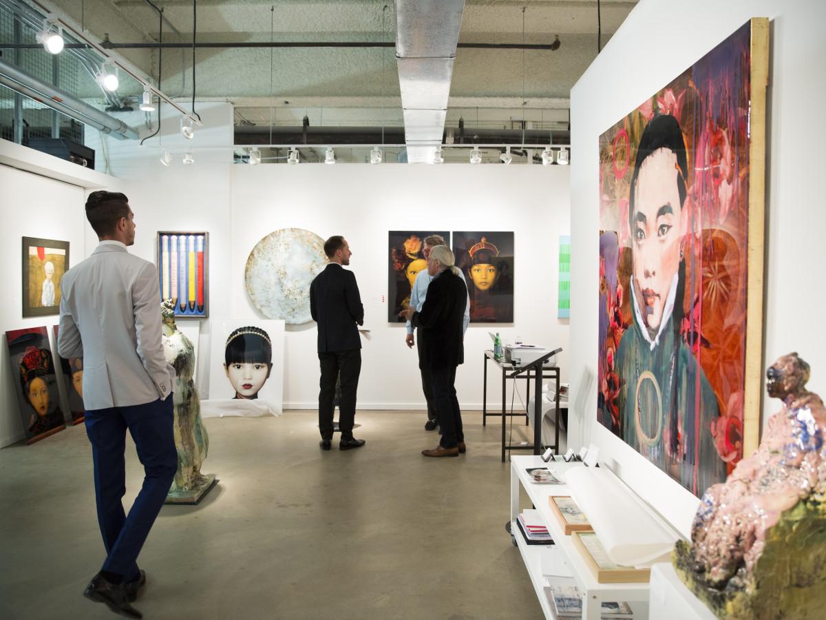 Dallas Art Fair Preview Gala 2016