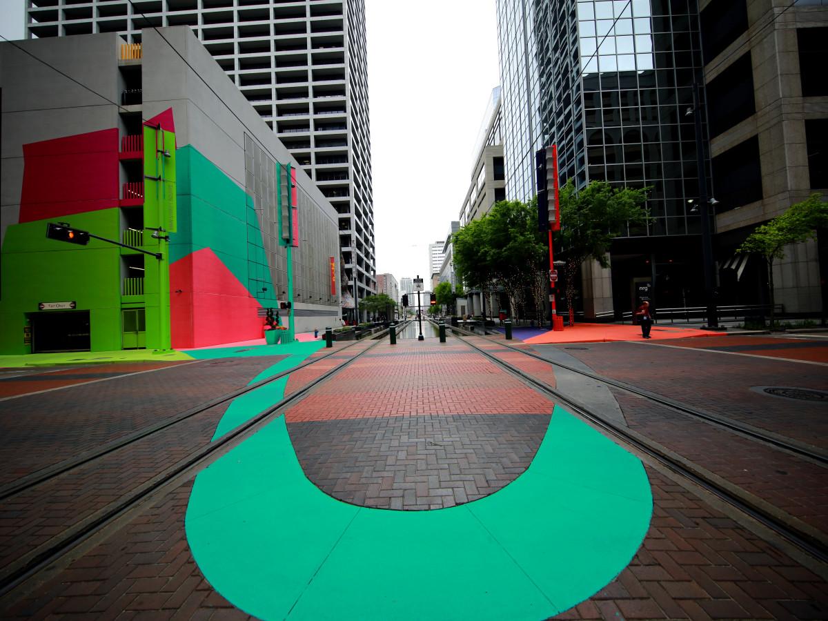 Art Blocks: Color Jam Houston