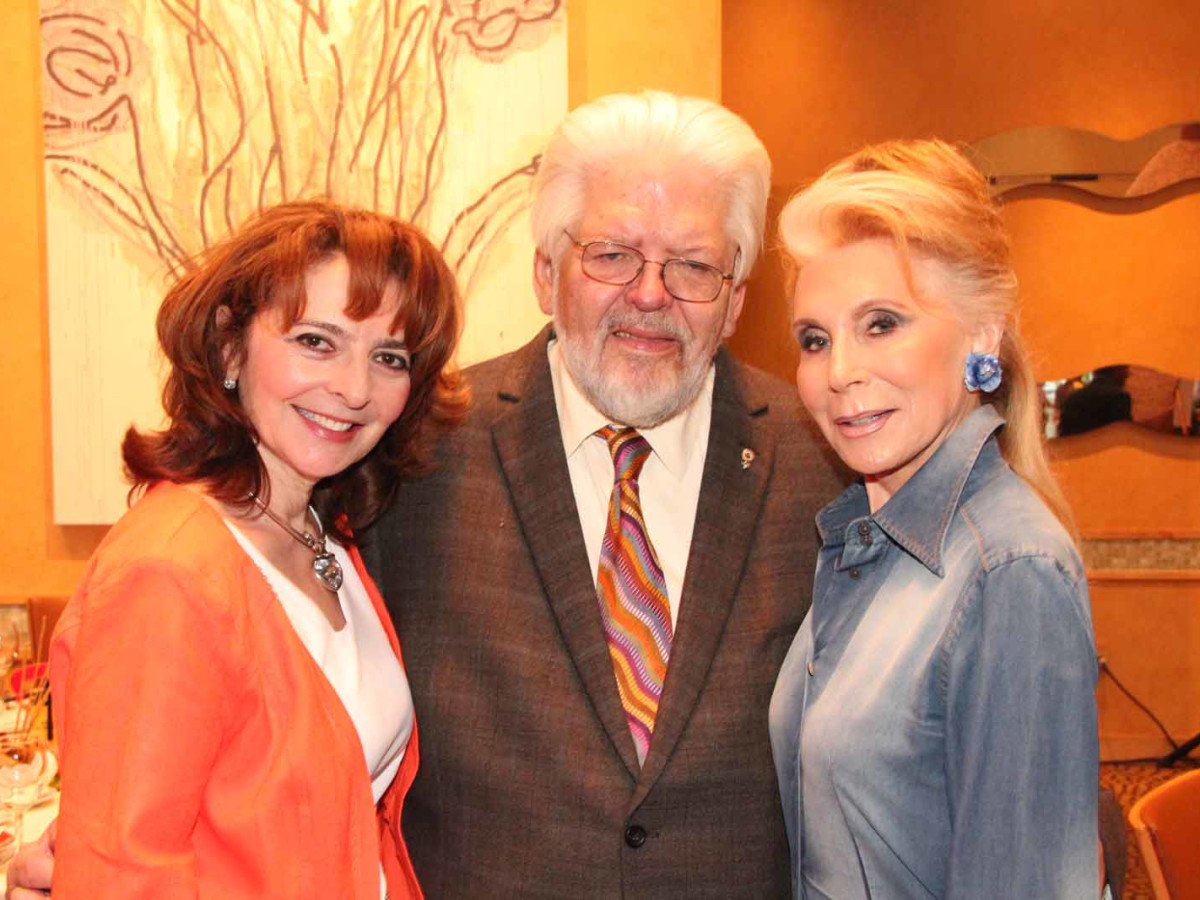 ESCAPE dinner, 4/16,  Lidya Osadchey, Gerald Franklin, Joan Schnitzer Levy