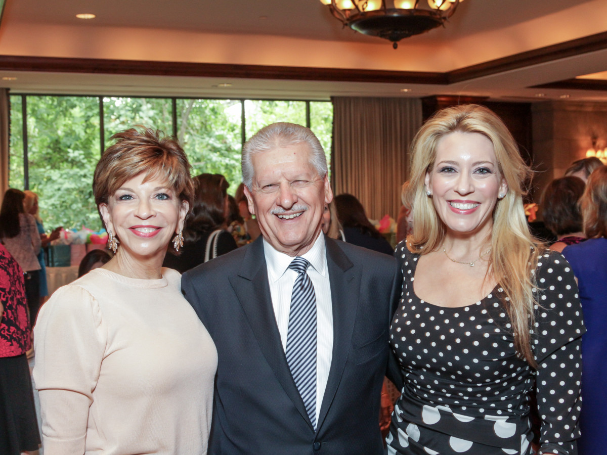 Houston, More Than You Can Imagine luncheon, April 2016, Vicki and Jack Rizzo and Mauri Oliver