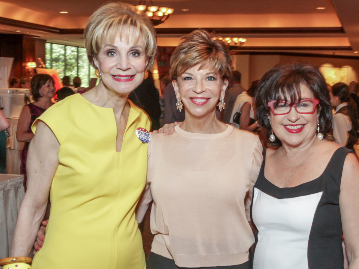 Houston, More Than You Can Imagine luncheon, April 2016, Leisa Holland Nelson, Vicki Rizzo and Roz Pactor