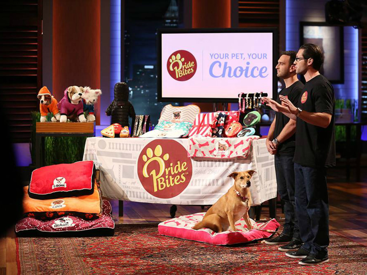 PrideBites Austin company personalized dog products Shark Tank April 2016