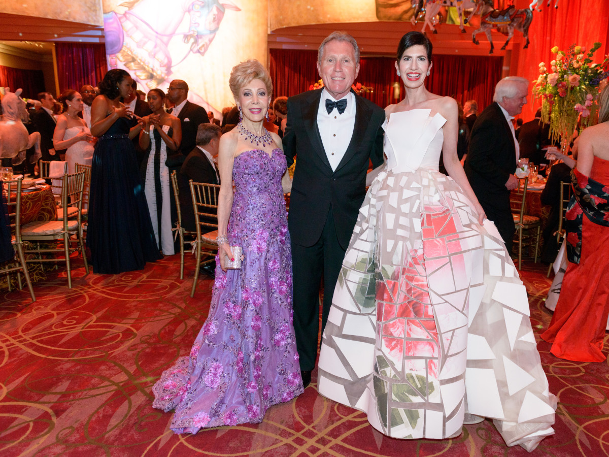 Houston Grand Opera Ball, April 2016 Margaret Alkek Williams, Martin Fein, Kelli Cohen Fein