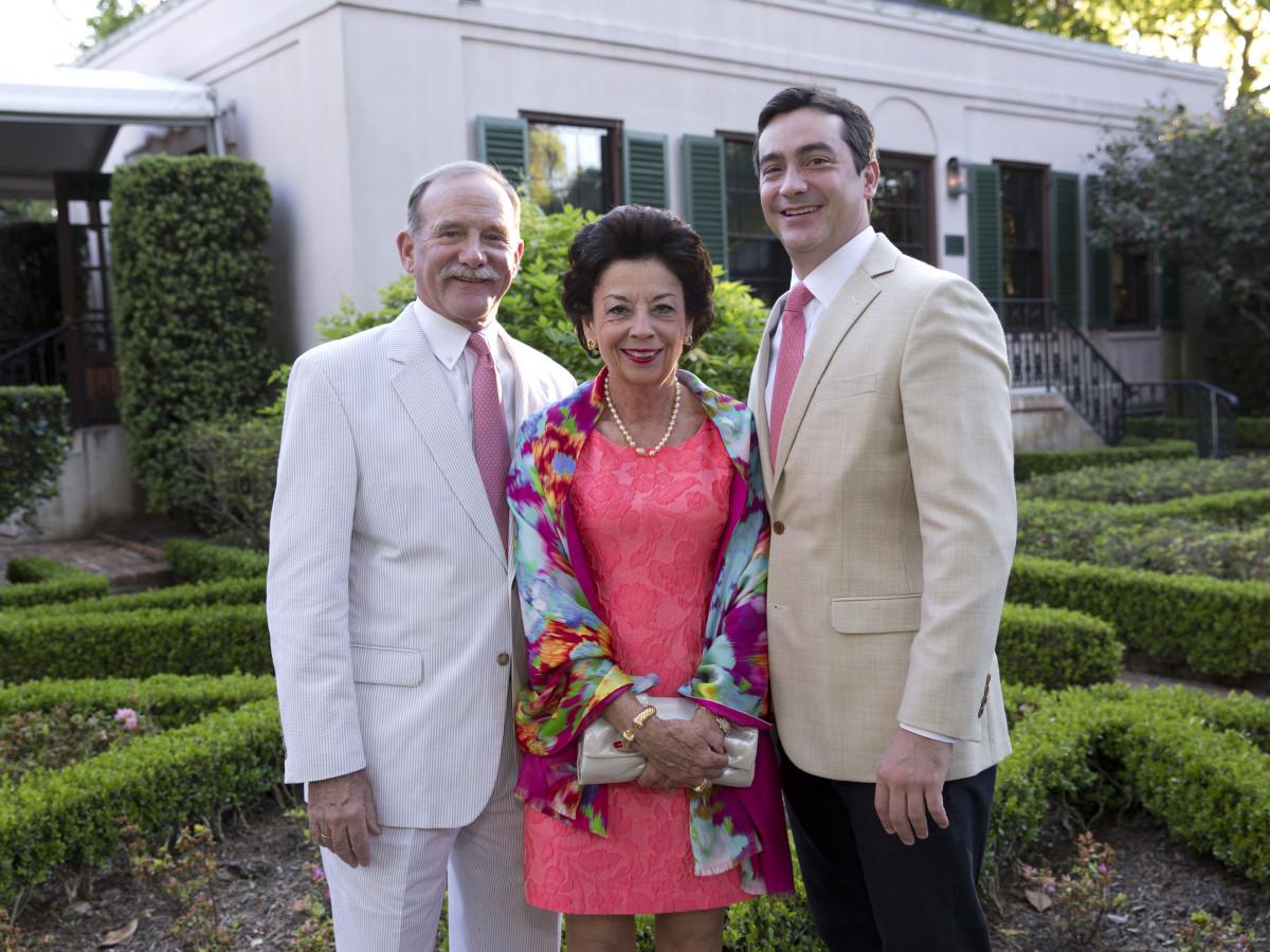 Bayou Bend Garden Party, April 2016, Marty Goossen, Kathy Goossen, Jay Goossen