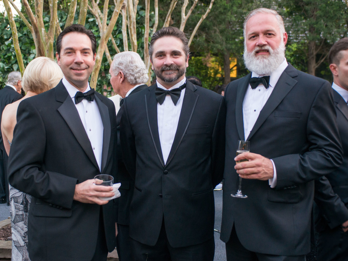 Van Cleef & Arpels party, April 2016, Jim Nelson, Stanton Welch, Mark Scioneaux