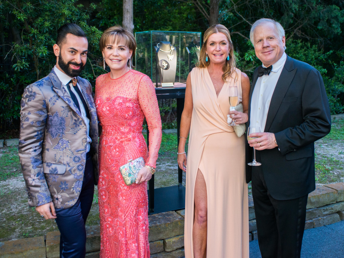 Van CleeF & Arpels party, April 2016, Fady Armanious, Hallie Vanderhider, Suzanne Dildy, Gary Dildy