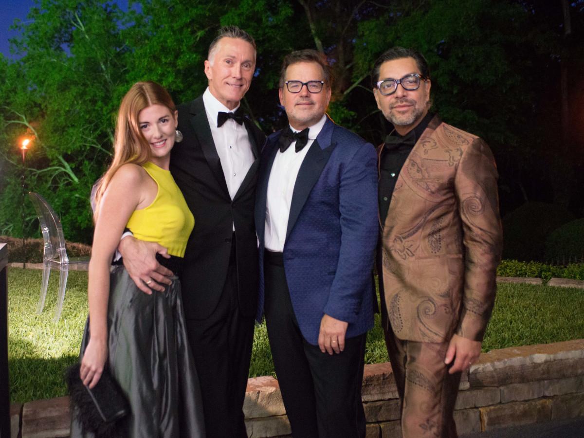 Van Cleef & Arpels party, April 2016, Lauren Werner, Gregroy Fourticq, Todd Fiscus, Ceron