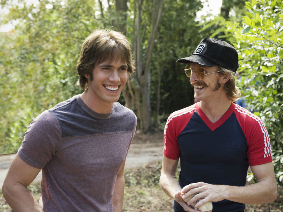 Blake Jenner and Austin Amelio in Everybody Wants Some