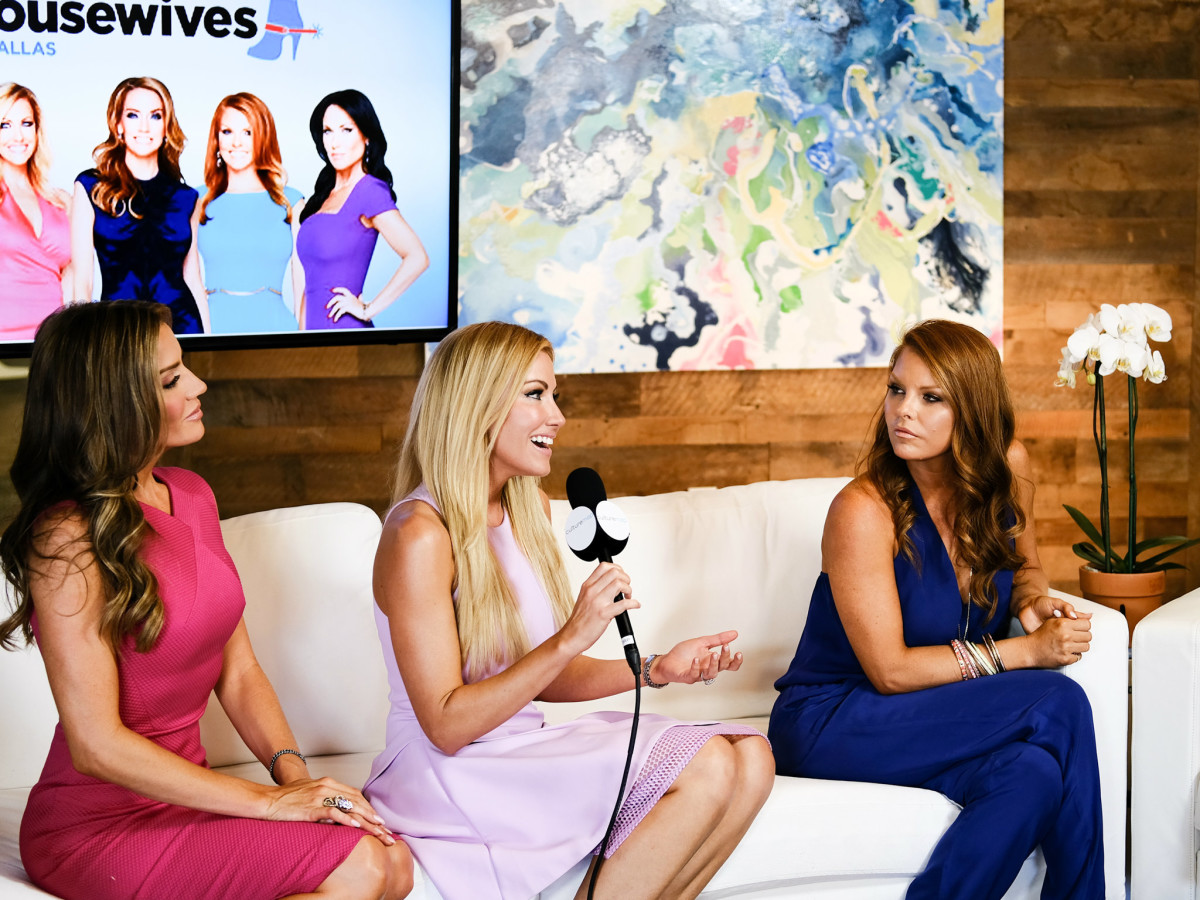Real Housewives of Dallas Stephanie Hollman, Brandi Redmond, Cary Deuber