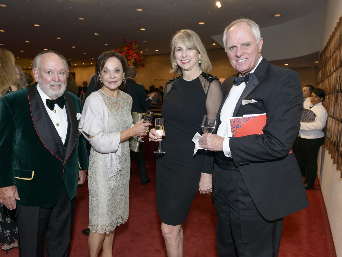 Symphony Wine Dinner, April 2016, John Kelsey, Jane DePaolo, Susan Hansen, Dick Hansen