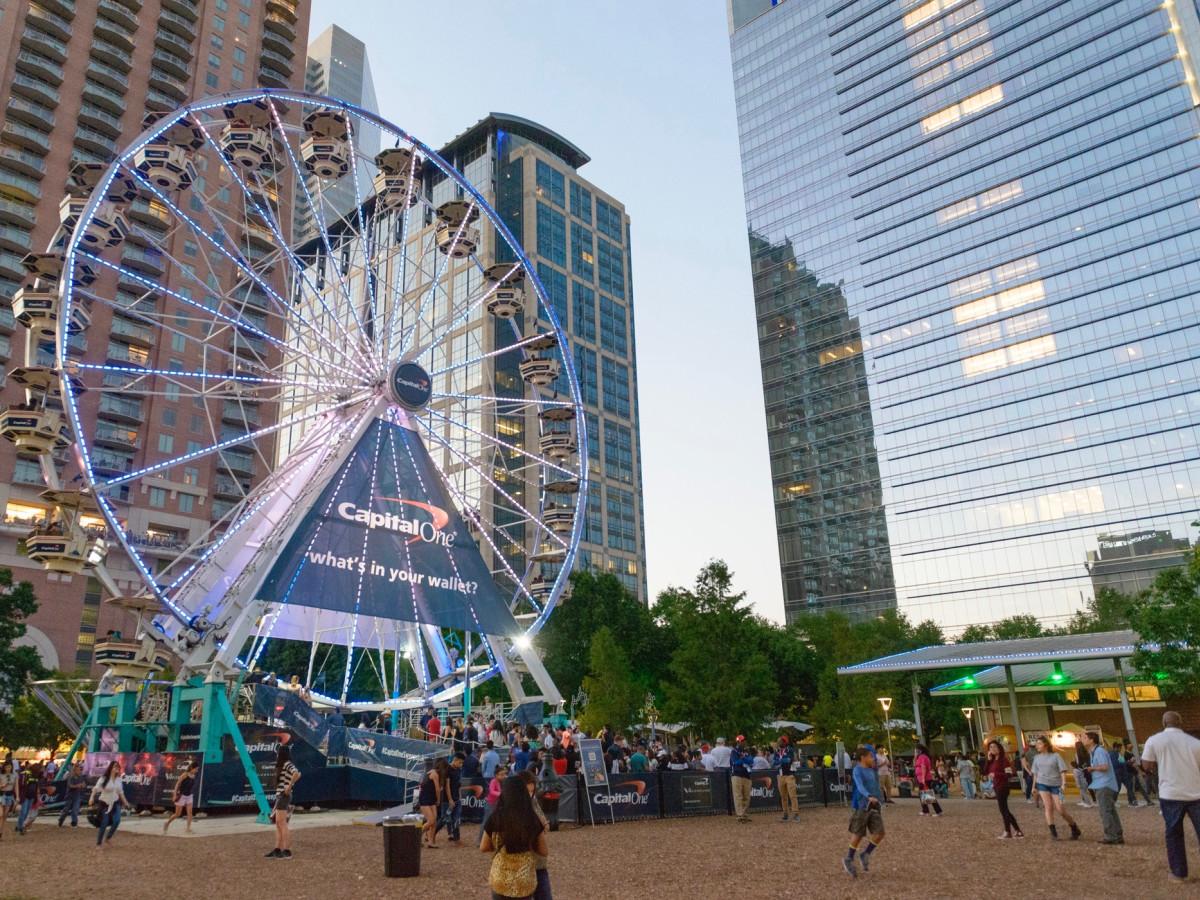 March Madness Music Festival ferris wheel