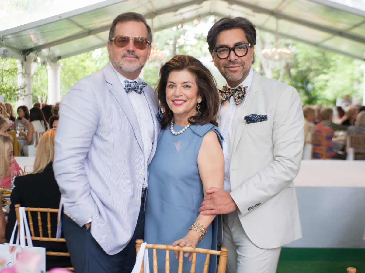 Bayou Bend luncheon, April 2016, Todd Fiscus, Dancie Ware, Ceron