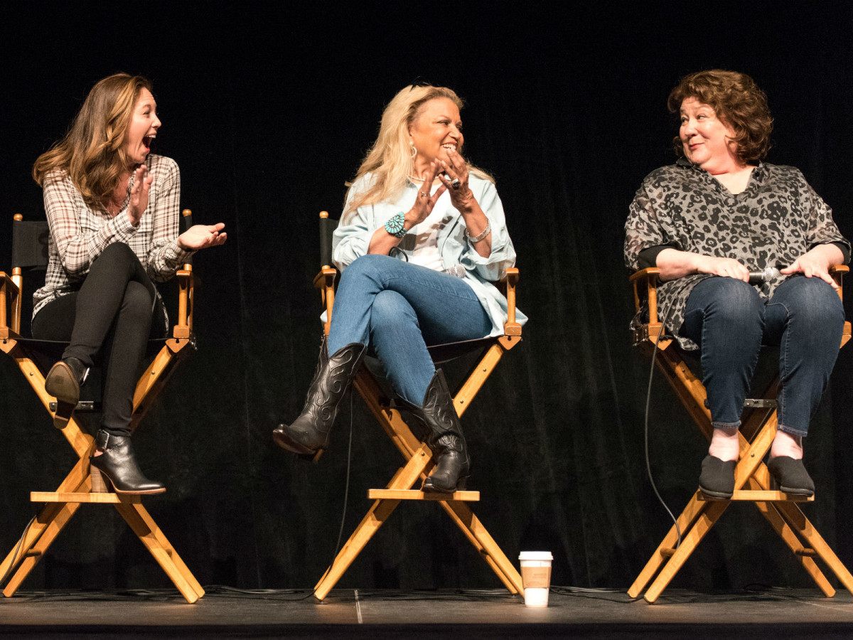 Diane Lane, Suzanne de Passe, and Margo Martindale at Lonesome Dove Reunion