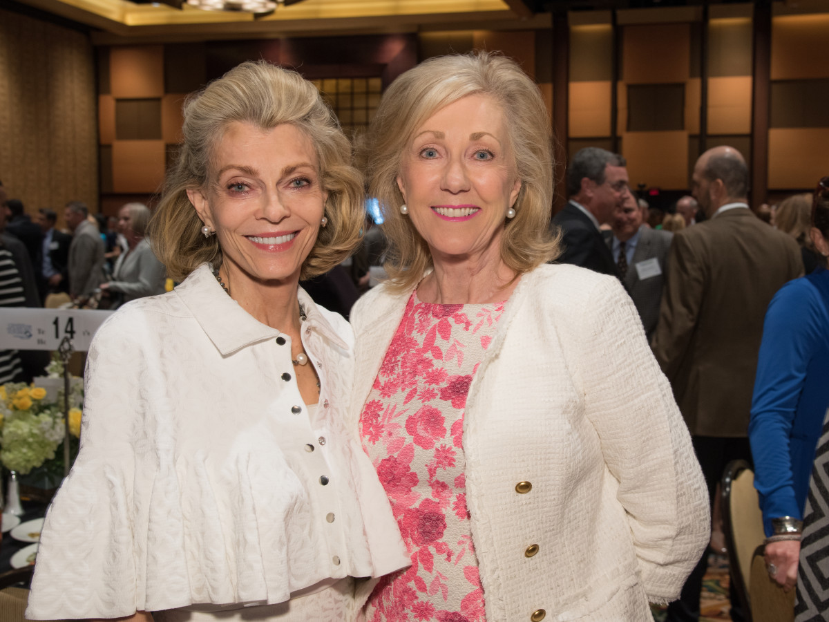 Center for Houston's Future luncheon, March 2016, Alice Burguieres, Catherine Mosbacher