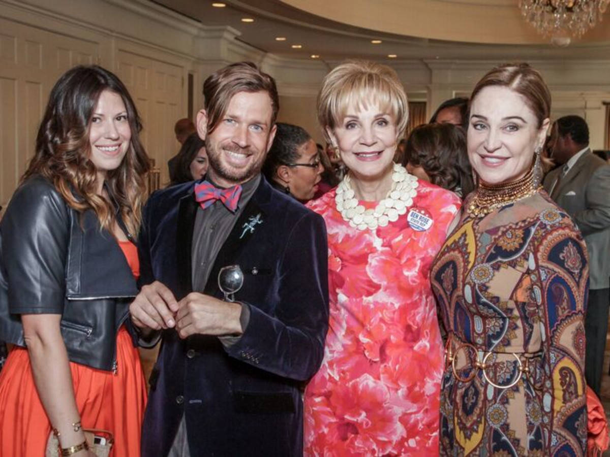 Ally Shell, Jeff Shell, Leisa Holland-Nelson, Becca Cason Thrash at Passion for Fashion luncheon