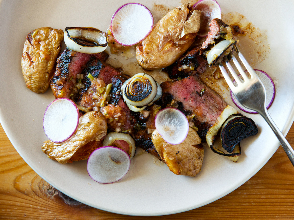 Chicon East Austin restaurant Ben Edgerton Andrew Wiseheart sirloin snack
