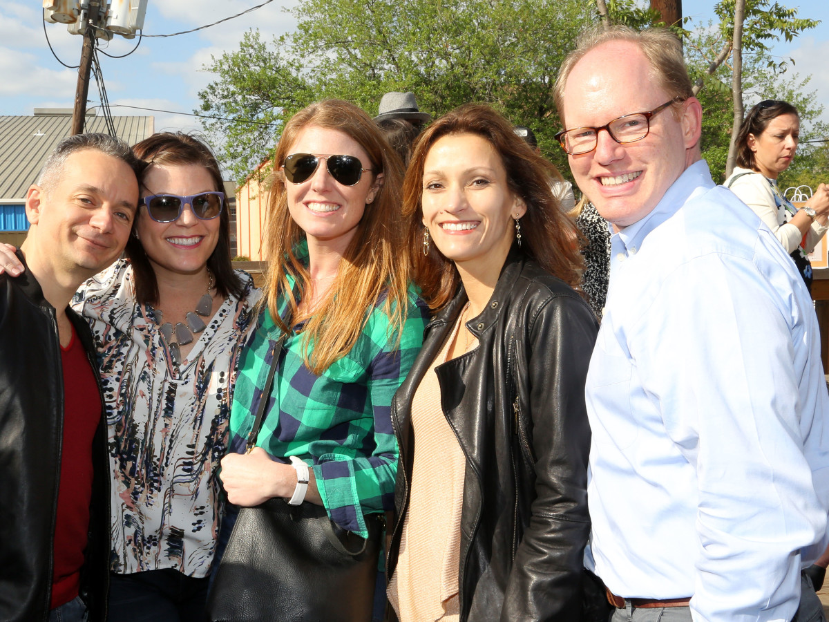 Women of Wardrobe Spring Fling, March 2016, Brian Thorp, Lauren Levicki Courville, Susan Oehl, Kirsten Neitsch Lees, Aaron Reimer