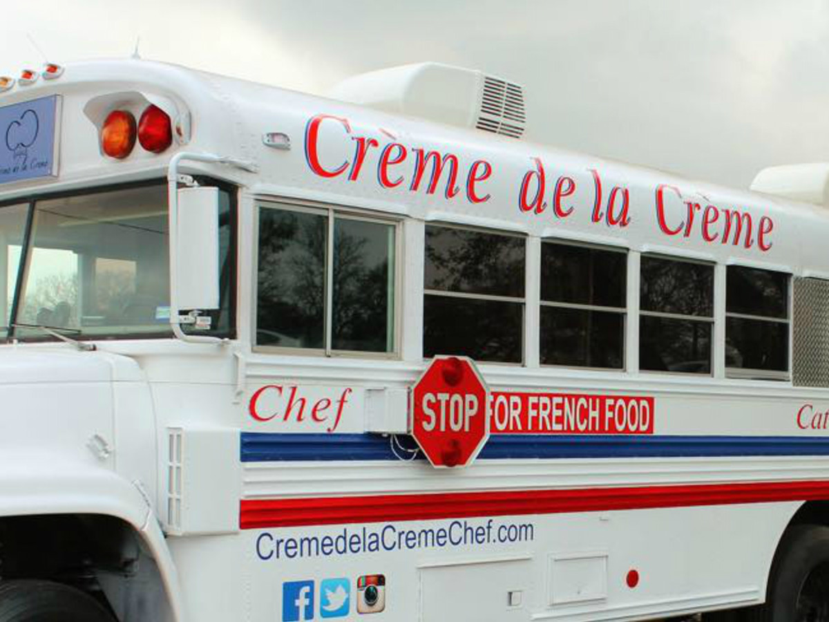 Creme de la Creme food truck Tony Parker Cliff Chetwood