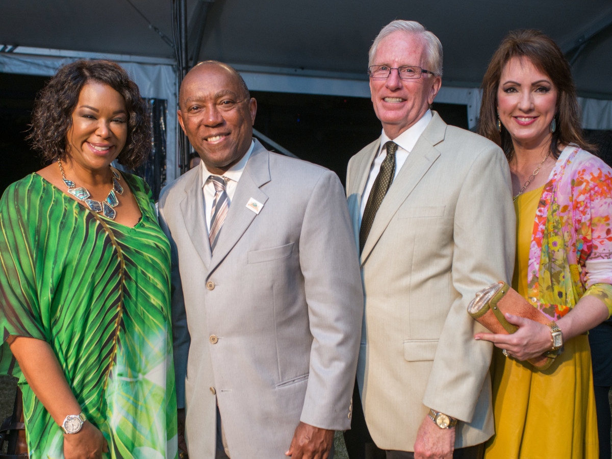 Hermann Park 100th anniversary, March 2016, Deborah Duncan, Sylvester Turner, Joe Turner, Alicia Smith