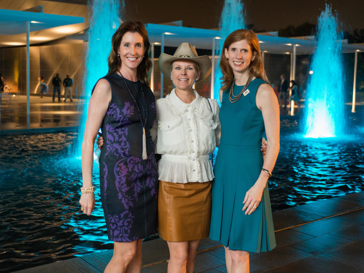 Hermann Park 100th anniversary, March 2016, Phoebe Tudor, Mindy Hildebrand, Lynn Zarr Jr.