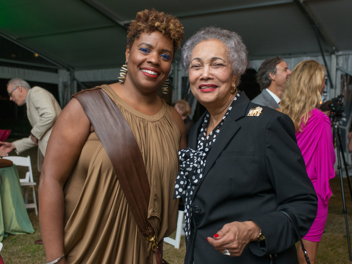 Hermann Park 100th anniversary, March 2016, Kim Davis, Jackie Bostic