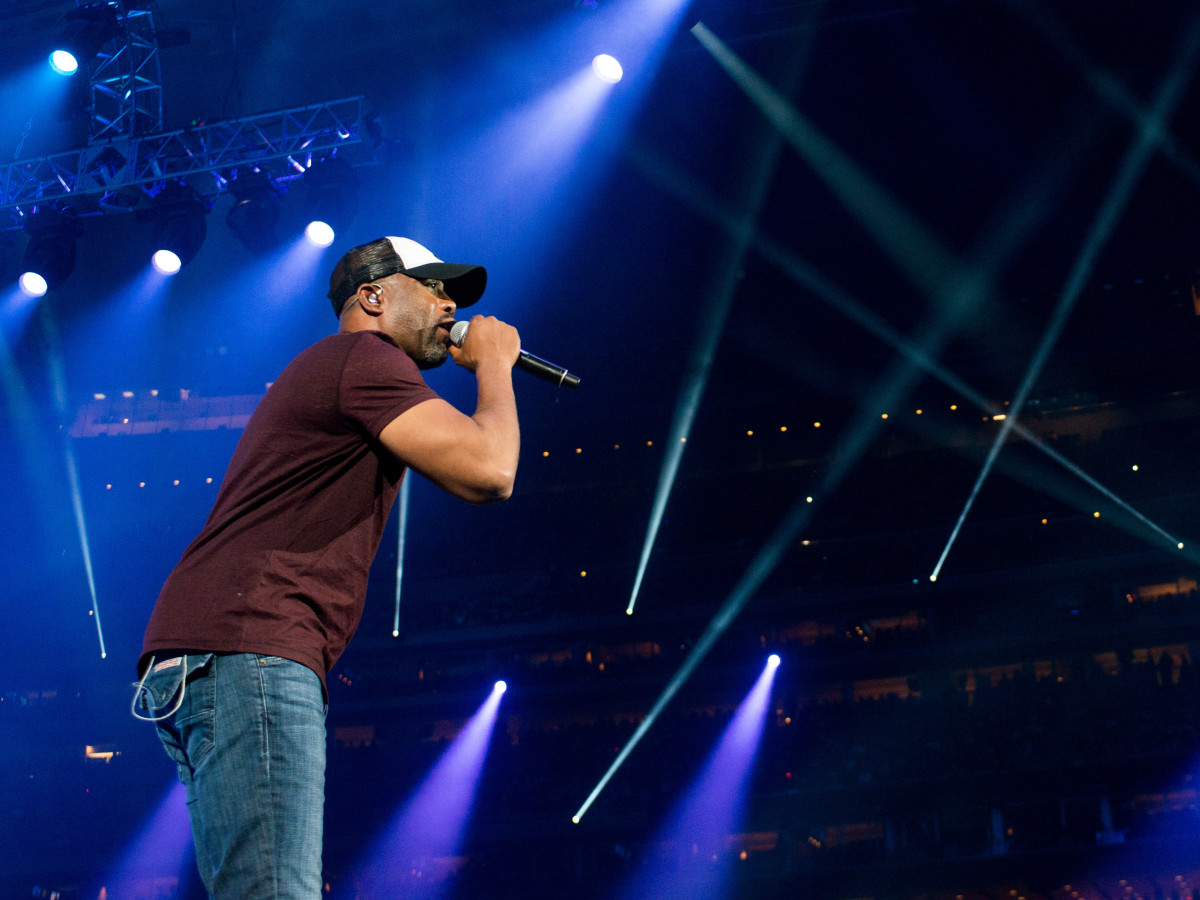 Darius Rucker at Houston Rodeo