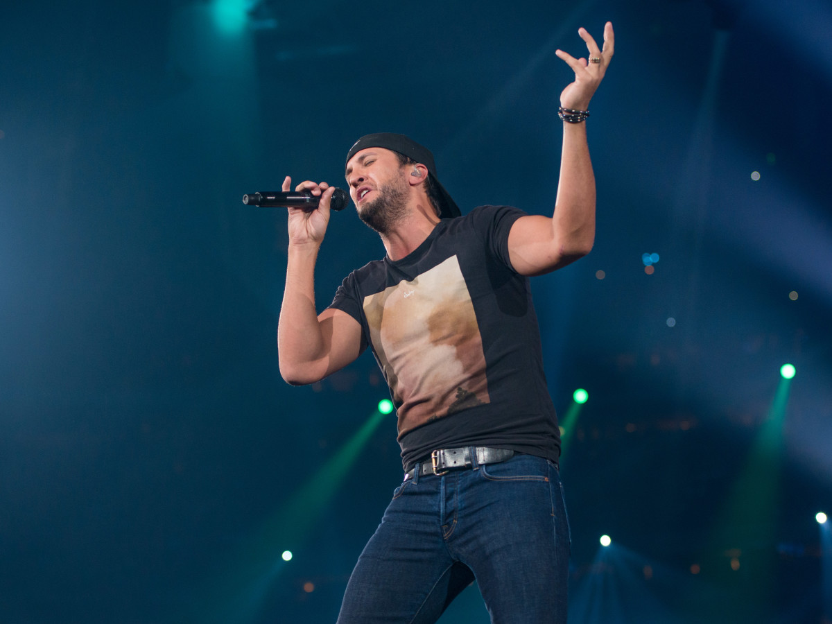 Luke Bryan at Houston Rodeo