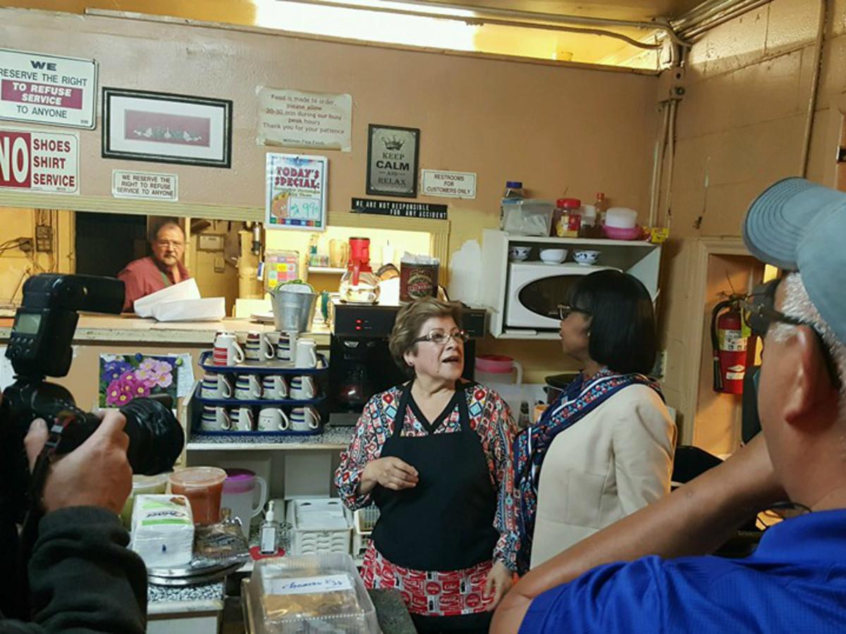 Mittman Fine Foods San Antonio restaurant Mayor Ivy Taylor Octavio owners March 2016