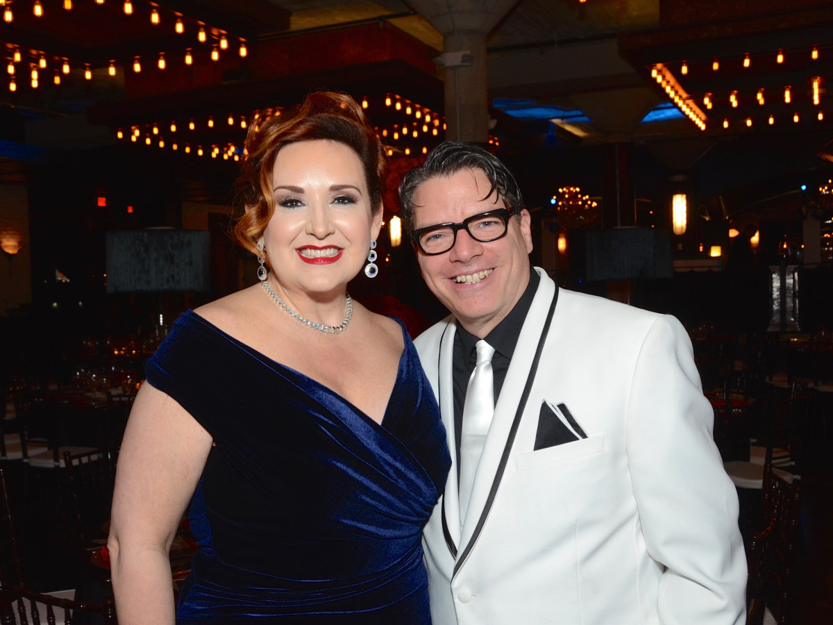 Tara Simon, Artistic Director Kenn McLaughlin at Stages Gala