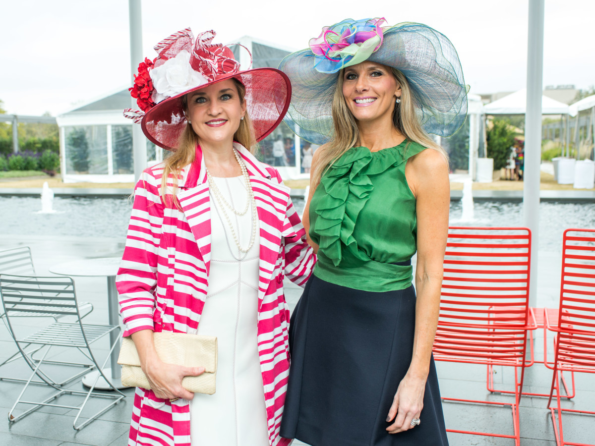 Hats in the Park, March 2016,  Mary D'Andrea, Gina Bhatia