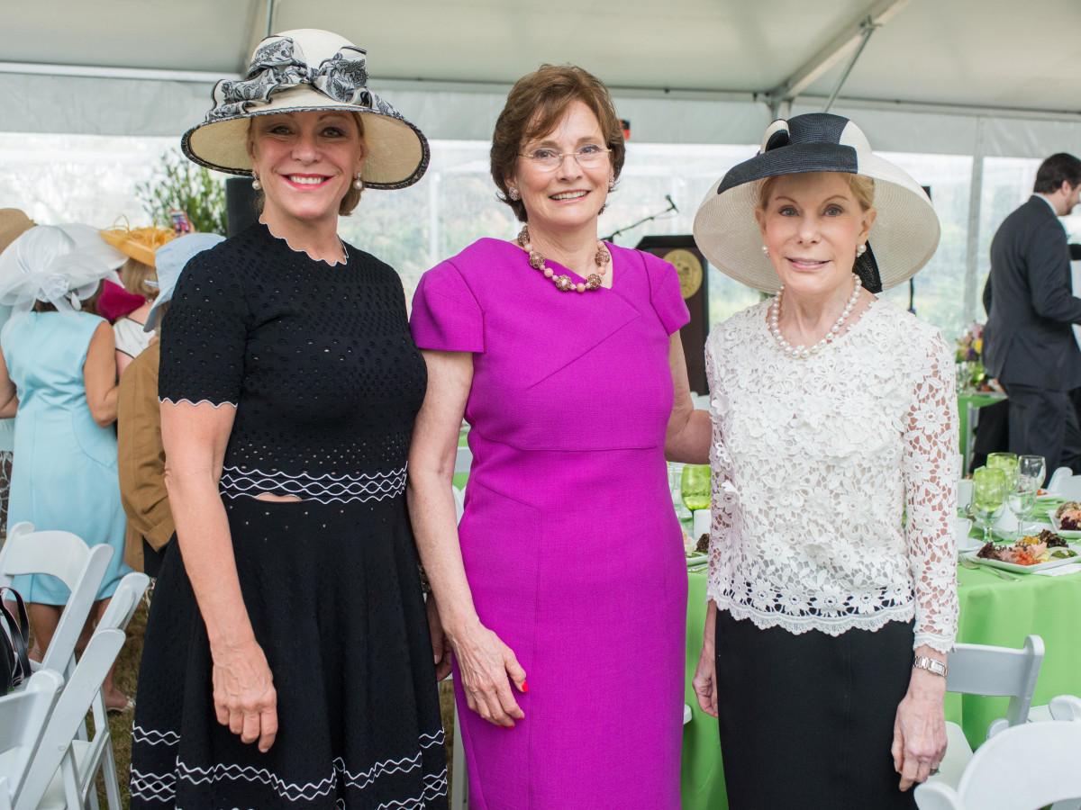 Hats in the Park, March 2016, Franci Neely, Bobbie Nau, Frances Marzio