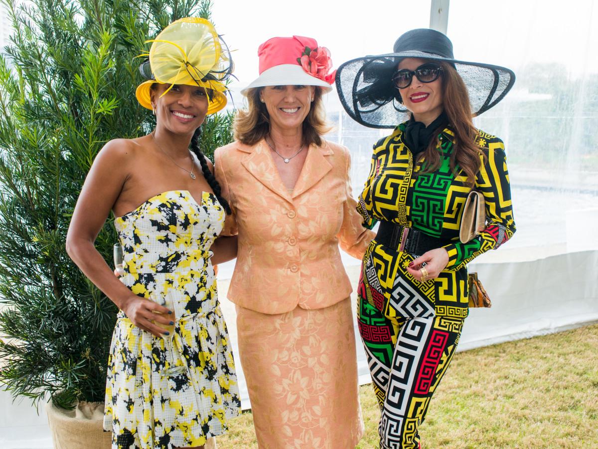 Hats in the Park, March 2016, Jackie Fair, Barbara Alesamit, Karina Barbieri