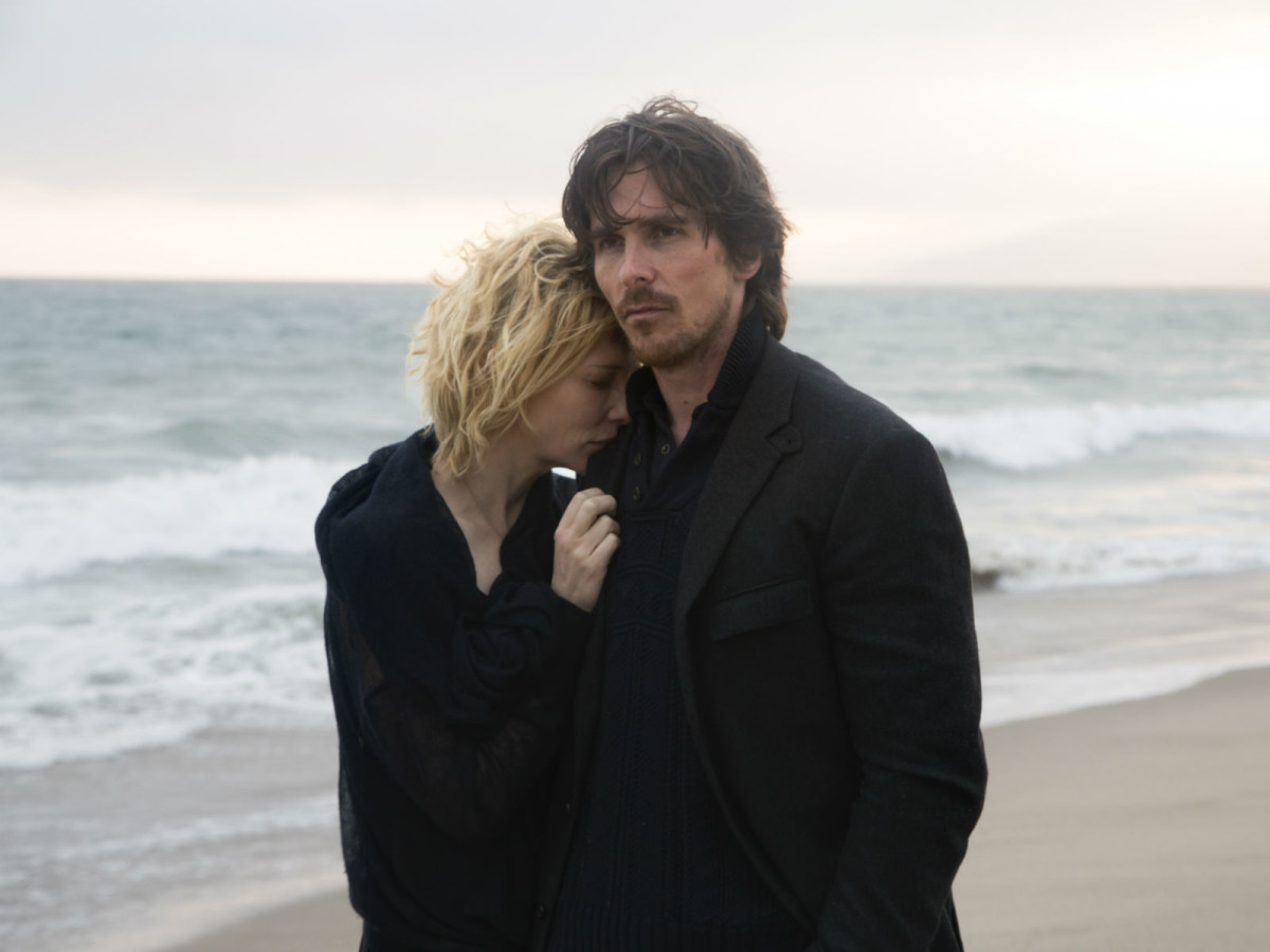 Cate Blanchett and Christian Bale in Knight of Cups